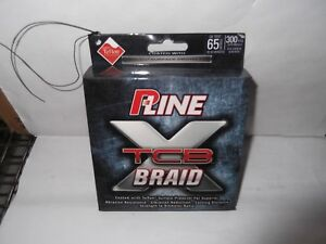 P-Line Tcb Teflon Coated Green Braid Fishing Line 300 Yards of 65 lb test