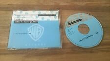 CD Pop Faith Hill - When The Lights Go Down (1 Song) Promo WARNER BROS sc