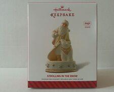 "Hallmark ""Strolling In The Snow"" Magic Sound 2014 Keepsake Holiday Ornament"