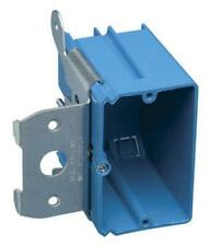 "Carlon B121Adj Pvc Adjustable Switch Box, 1 Gang, 3-3/8"" depth x 3-7/8"" x 3-3/4"""