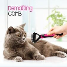 DakPets Dematting Tool Dog Cat Fur Comb Pet Supplies Grooming Brush Hair Rake