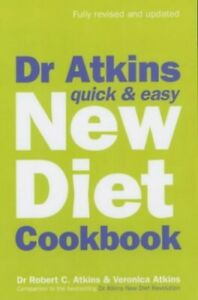 Dr Atkins Quick & Easy New Diet Cookbook by Veronica Atkins Paperback Book The