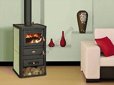 A Legna Stufa 5+10 kW Retro Boiler Log Burner Stufa a legna Prity Acqua Giacca