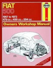 0090 Haynes Fiat 500 (1957 - 1973) up to M Workshop Manual