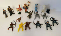 Vintage Toy Figure Lot - Small - 1967 MGM, Civil War figures and MORE!