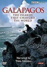 GALAPAGOS GENUINE R2 DVD BBC NARRATED BY TILDA SWINTON 2-DISC VGC