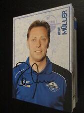 60307 Rene Müller SC Paderborn 15-16 original signierte Autogrammkarte