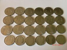 """INDIA COINS LOT-25  """" RE. 1/- OLD & NEW COINS-3 DESIGNS-FULL RANGE-1992-2018#21M"""