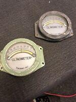 VTG Marine Clinometer Lot Of 2