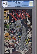 Classic X-Men #22  CGC 9.6 1988 Marvel Comic : NEW Frame