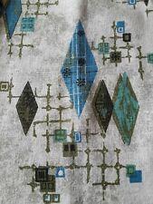 Mid Century Modern~ pair of pleated curtains