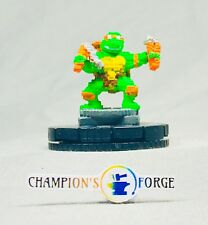 Heroclix TMNT Unplugged Series 4 Michelangelo #002 Common w/ Card