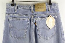 RARE VINTAGE Mens LEVIS 550 Jeans RELAXED Tapered ORANGE TABS W32 L36 P24