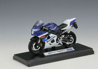 Welly 1:18 SUZUKI GSX-R750 Motorcycle Bike Model Toy New In Box