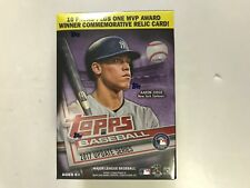2017 TOPPS UPDATE SERIES BASEBALL BLASTER BOX ( COMMEMORATIVE RELIC CARD )