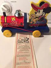 Commemorative Fisher Price Mickey Mouse Choo Choo-2003