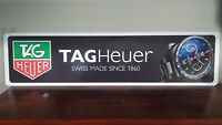 """TAGHeuer Watch full color aluminum sign  6"""" x 24"""""""