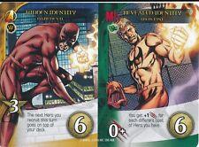 DAREDEVIL Upper Deck Marvel Legendary IRON FIST HIDDEN/REVEALED IDENTITY DUAL