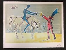 Don Quixote The Gift of Mandrino Fine Art Lithograph Salvador Dali S2