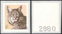 USA 2012 Bobcat/Cats/Wildlife/Animals/Nature/Conservation 1v s/a ex coil n44588b