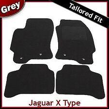 Jaguar X-Type 2.0 y 2.2 litros a la medida Alfombra Coche Tapetes 2001-2009 Gris