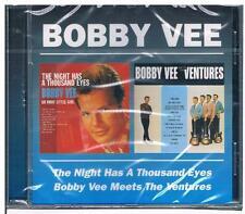 Bobby Vee-The Night Has a Thousand Eyes & meets the Ventures/2 album/CD-Merce Nuova