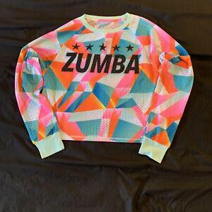 Zumba Dance In Color Long Sleeve Top - Multi - XS
