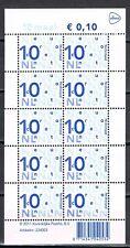 Nikkels V2135c 10 x 10 cent PostNl-logo 2012 copyright 2011 RDD cat waarde €3,50
