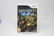 CALL OF DUTY 3   WII  NINTENDO Wii PAL inv-5973