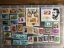 Grenada  Grenadines Stamps unchecked collection  (Zz912)