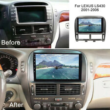 For Lexus LS430 2001-06 Android 10.1 Car DVD Player GPS Navi Radio Stereo Wifi