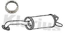 Toyota Yaris 1.0 1.3 Hatchback 99-05 Klarius Exhaust Rear Box - TY581H + Gasket