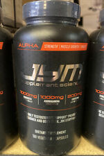 JYM Supplement Science Alpha 180 caps Test Booster Muscle Growth Free Shipping