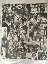 Collectible Vintage Movie Collage Poster By Sydney Molliver- Hollywood, Calif #1