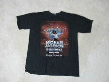 Michael Jackson Immortal Concert Shirt Adult Medium Cirque Du Soleil Tour Mens