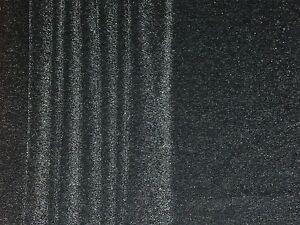 SPARKLE PONTEROMA STRETCH JERSEY-BLACK/SILVER -DRESS FABRIC-FREE P&P