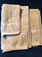 3 PIECE TOWEL  SET 100% EGYPTIAN COTTON FACE, HAND, BATH TOWELS