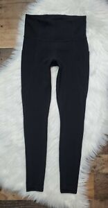 Athleta Stash Pocket Salutation Tight Black Women's Size XS