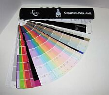 SHERWIN WILLIAMS Paint Color Chips Sample Swatch Book Architect Fan Deck