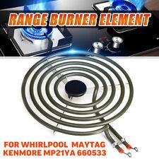 "8"" Range Burner Stove Element Surface For Whirlpool Maytag MP21YA 660533 M61D16"