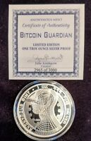 BitCoinGuardian Proof- 1 ozSilver Round