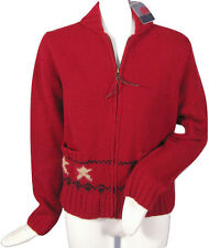 NEW!  RARE Polo Ralph Lauren Womens Cardigan Sweater! M  *Huge American Eagle*