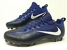 Nike Vapor Untouchable Pro Low Black/Blue Football Cleats Size 15 ( 839924 014 )