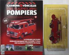 CAMION POMPIERS CITROEN TYPE N POMPIERS DE PARIS N° 52