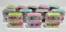 Fing'rs Prints 24 Pieces Press-On Nails Finger Prints Fake Nails BUY 2 GET 1 FRE