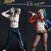 """NEW 1/6 Scale DC Suicide Squad JOKER or HARLEY QUINN 12"""" Collectible Figure PVC"""