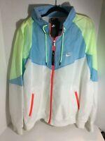 Men's Nike Sportswear Windrunner Hooded Jacket Easter 2XL XXL AR2209-101 NWT