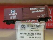 z scale micro trains PITTSBURGH & LAKE ERIE BOXCAR EXCELLENT CONDITION  WRONG OB