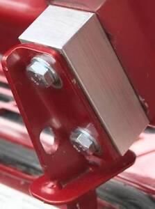 "1"" SOLID ALUMINUM fits Jeep Cherokee XJ Hood Lift kit spacer rock crawler pump"