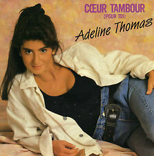 ADELINE THOMAS COEUR TAMBOUR / INSTRUMENTAL FRENCH 45 SINGLE